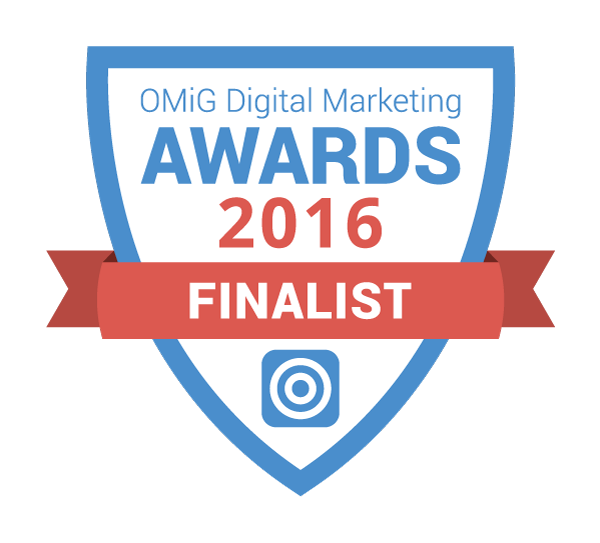 OMiG Awards 2016 Finalist Badge