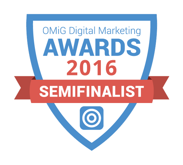 OMiG Awards 2016 Semifinalist Badge